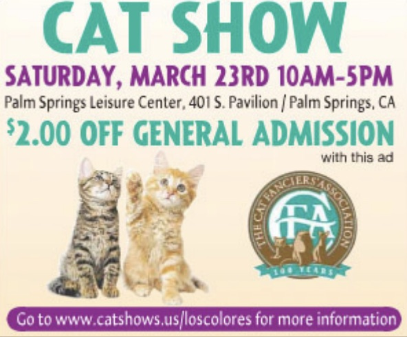 CatsLA | Cat Shows in Los Angeles/Southern California